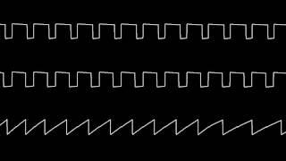 "C64 Thomas Detert's ""Gordian Tomb"" Oscilloscope view"