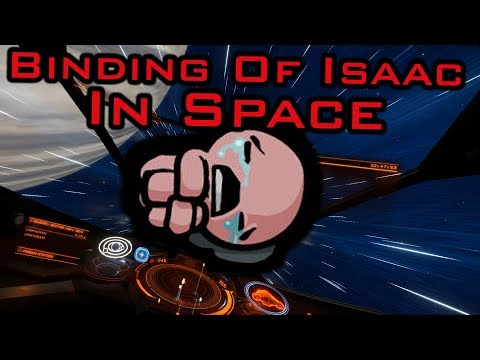 [Live] Binding Of Isaac - IN SPACE with Voice Controls! -  Multicrew Elite Dangerous