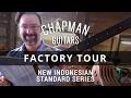 Chapman Guitars Factory Tour   New Indonesian Standard Series