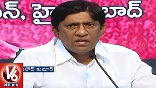 TRS MP Vinod Fires On Congress Leader Ghulam Nabi Azad Comments Over TRS Party | Hyderabad