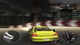 Need for Speed: Underground 2 Gameplay Walkthrough - Mitsubishi Lancer Evolution Street X Test Drive