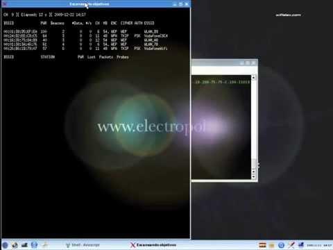 WIFI ALFA 1000mW + WIFISLAX. Crack wep en 2 minutos