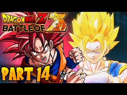 DragonBall Z: Battle of Z - Part 14 - Co-Op: 4 Player-Playthrough