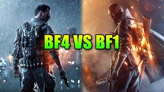 Battlefield 1 Vs Battlefield 4 - Biggest Gameplay Changes | BF1 Alpha