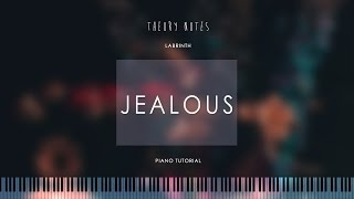 How to Play Labrinth - Jealous | Theory Notes Piano Tutorial