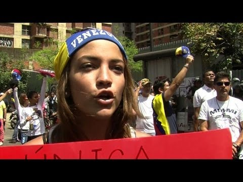 Hundreds join Venezuela anti-government protests
