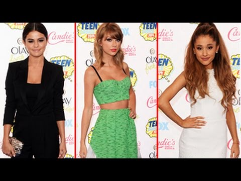 Teen Choice Awards 2014 - Best Dressed - Selena Gomez, Ariana Grande & Taylor Swift Who Wins?