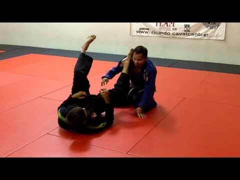 Jiu Jitsu Techniques - Armbar from Spider Guard Image 1
