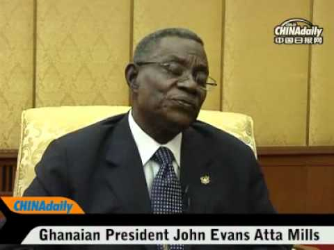 China Daily's exclusive interview with Ghanaian President