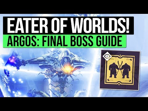 Destiny 2 | EATER OF WORLDS RAID GUIDE! - How to Defeat Argos, Planetary Core (Raid Lair Tutorial))