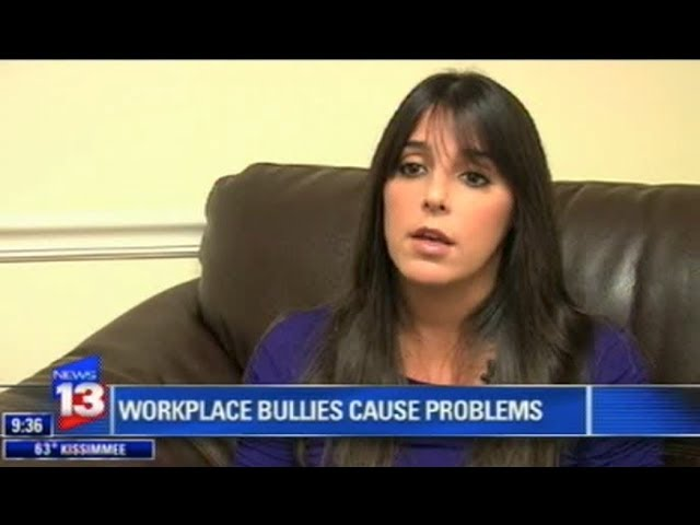 Workplace Bullying | Channel 13 Dana West