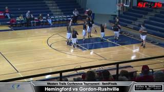 FULL BASKETBALL MATCH - Hemingford vs Gordon Rushville - Including COMMENTARY!