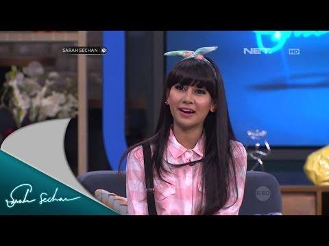 Anisa Rahma nangis saat melihat tayangan surprise Cherrybelle