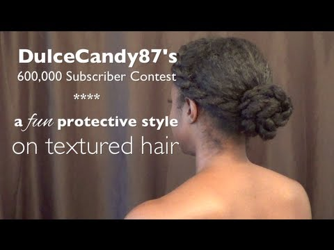 natural hair protective style! | LHDC-TV
