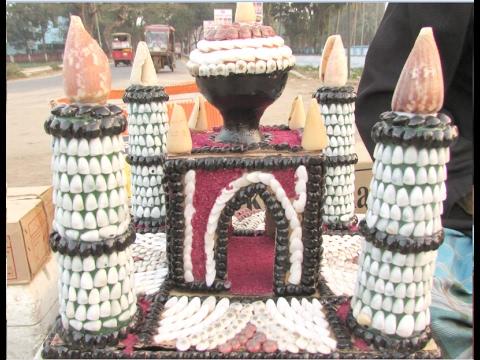 কক্সবাজার ক্ষুদ্রশিল্পীদের হাতের তৈরি করা শামুক ঝিনুকের পণ্য | Cox's Bazar Golf Open Jhinuk Market |