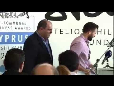 Stelios Bi-Communal Business Awards Cyprus 2014   Mega TV News