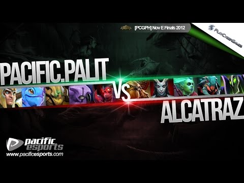 [PCGPH Nov E Finals] Pacific.Palit vs Alcatraz