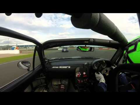5Club MX5 Cup Silverstone International 2014 Race 2 - Start