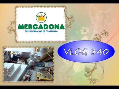 COMPRA MERCADONA, MANUALIDADES Y MAS / VLOG 340