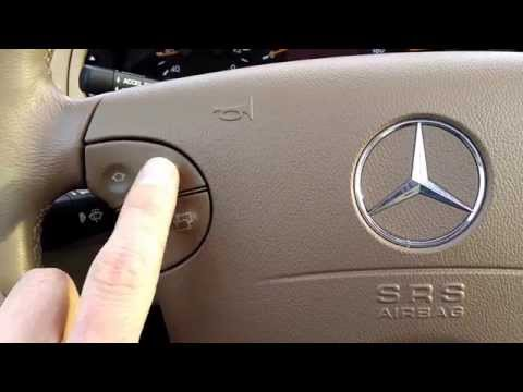 Mercedes Benz E 320 - Steering Wheel Review