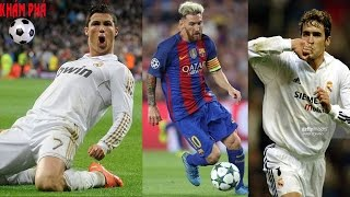 """Tốp 10 chân sút vĩ đại nhất Champions league: Gọi tên """"Vua"""" Ronaldo-Khám phá bóng đá"""