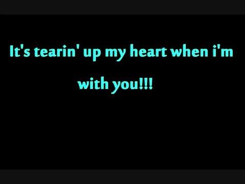 tearin' up my heart N sync