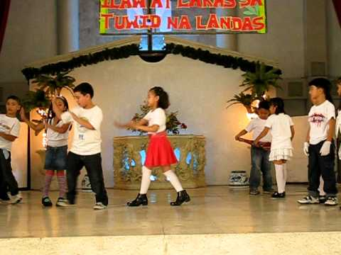 linggo ng wika presentation by grade 1 and 2 students