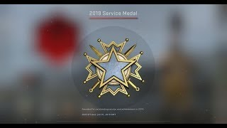 I GOT 2019 SERVICE MEDAL, SO NO ONE CAN STOP ME !!