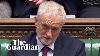 Corbyn says May is choosing