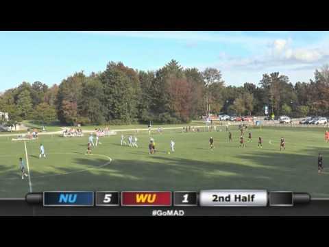 Northwood Men's Soccer - NU 9, Walsh 1 (9/18/15)