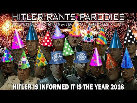 Hitler is informed it is the year 2018