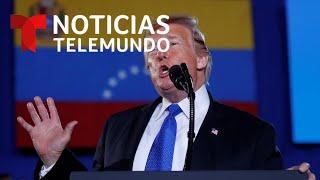 EN VIVO: Declaraciones del presidente Trump sobre Venezuela