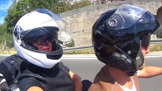 Путешествие на мотоцикле по Европе (Goldwing)