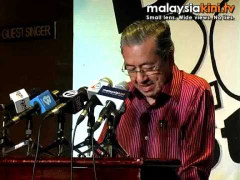 Mahathir: Chedet.cc has gotten 19million visitors from May 1 '08 to May 1 '09