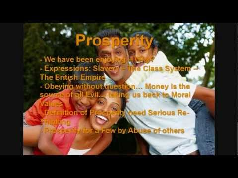 Peace Security and Prosperity Winning Proposal Individuals Humanity Society Civilization