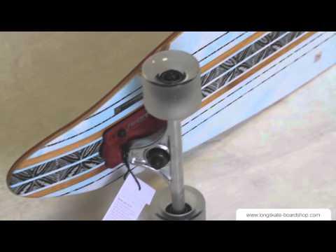 Globe Pinner Bambou - Longboard complète