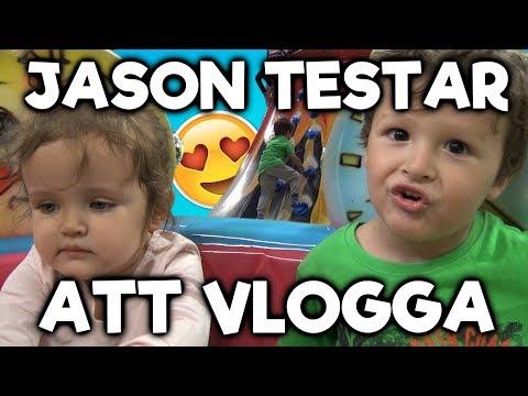 Jason Testar Att Vlogga - En dag full med bus