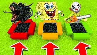Minecraft PE : DO NOT CHOOSE THE WRONG END PORTAL! (Dragon, Spongebob & Dipsy Slendytubbies)