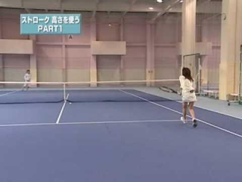 テニス絶対上達法 ㊙メソッド ストローク 高さを使うPART1