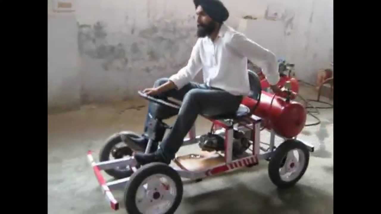 Compressed Air Vehicle Mechanical Engineering Project