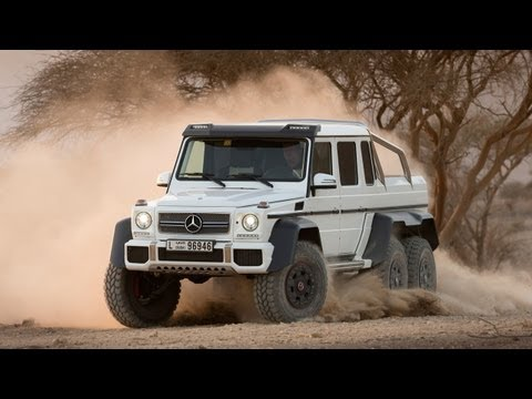 Mercedes Benz G63 AMG 6x6 is invincibly awesome!