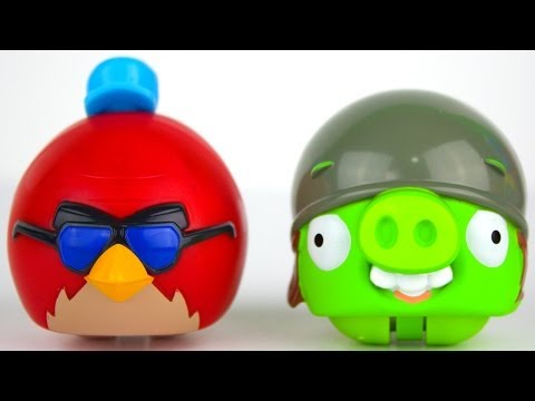 Opening Angry Bird Go! Toys And More Candy! video