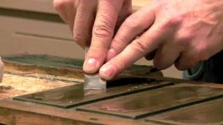 Paul Sellers - How to sharpen chisels with diamond stones