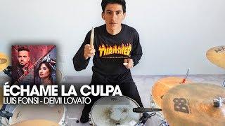 Download Lagu ÉCHAME LA CULPA - Luis Fonsi, Demi Lovato | Batería *Drum Remix* Gratis STAFABAND