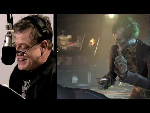 Batman Arkham City: New behind the scenes feat Mark Hamill as the Joker