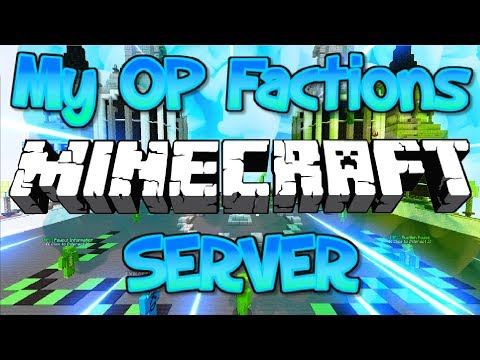 MY OP FACTIONS MINECRAFT SERVER RESET (FREE TOP RANK GIVEAWAYS) 1.8/1.9/1.12.2/1.13.1 2018 [HD]