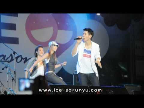 """[Fancam] 100704 ICE Sarunyu """"Khon Mun Rak"""" SMILE @ Ratchaprasong"""