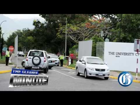 THE GLEANER MINUTE: Chikungunya at UWI ... Mario Deane protest ... Big ganja bust