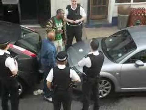 police harassment hackney