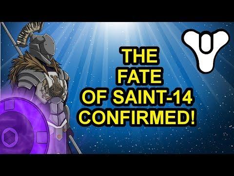 Destiny 2 Lore Saint-14's Fate!